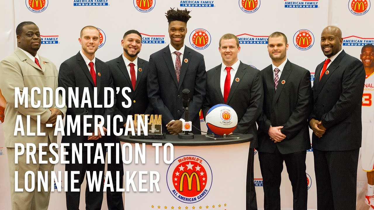 c79685c80c6 Reading Knights Honor McDonald s All-American Lonnie Walker - YouTube