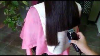 Corte de cabello recto facil