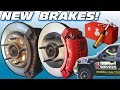 Upgrading BRAKES & CRAZY BASS w/ 30,000 Watt Car Audio Subwoofer Sound System   Pads & Calipers
