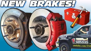 Upgrading BRAKES & CRAZY BASS w/ 30,000 Watt Car Audio Subwoofer Sound System | Pads & Calipers