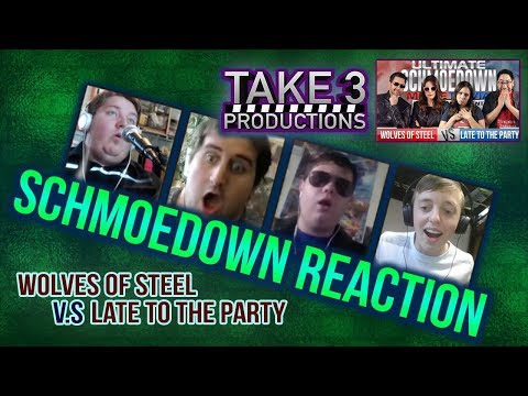 Take 3 Schmoedown Reaction - Wolves of Steel vs Late to the Party