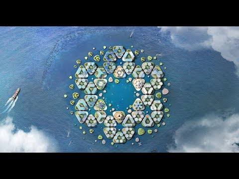 Oceanix City Floating Ocean City