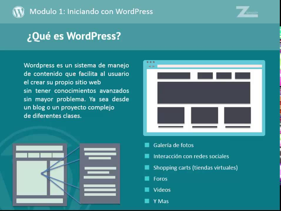 Como crear temas para wordpress desde cero - ¿Que es WordPress ...