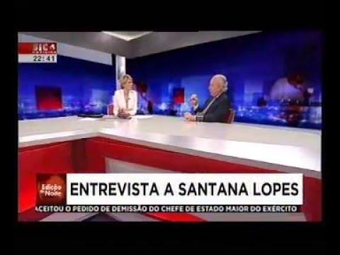 SIC Notícias   Entrevista Pedro Santana Lopes   07.04.2016