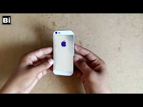 How to make a Apple Iphone out of cardboard | DIY CARDBOARD IPHONE 5s - first look HOW TO MAKE | Bi