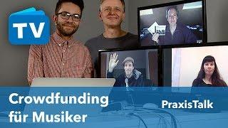 Wie funktioniert Crowdfunding für Musiker?