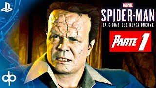 SPIDERMAN PS4 DLC 2 Parte 1 Gameplay Español | Guerras de Territorio (DLC 2 Hammerhead)