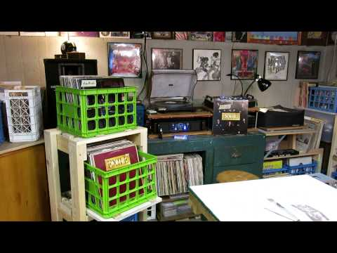 Curtis Collects Vinyl Records: My new album storage rack; Exile - Kiss You All Over