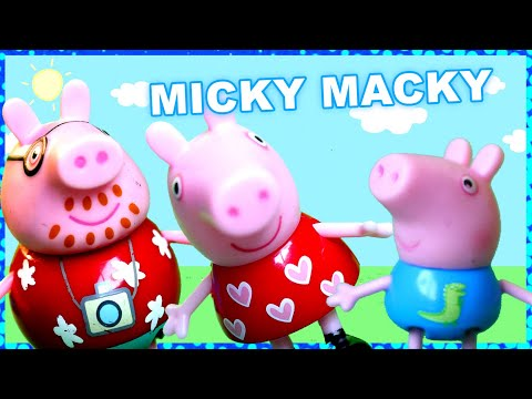 Micky Macky - The new hit dance song featuring Whimsy, Peppa Pig, Daddy Pig, Suszy Sheep and George