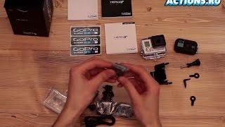 Розпакування камери GoPro Hero3+ Black Edition