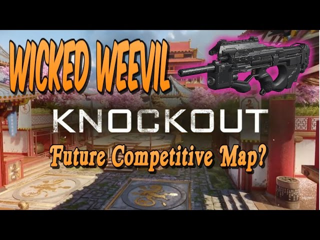 KNOCKOUT Knowledge for all! 80+ Kills! The Wicked WEEVIL! New Best SMG?!? (BO3)