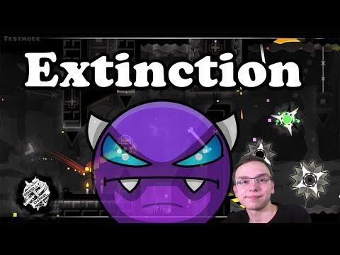 Это просто ужас... Extinction | Geometry Dash #2