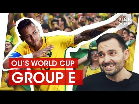 Can Neymar lead Brazil to the World Cup title? | Oli's World Cup Group E