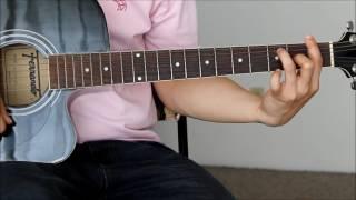 Eraserheads - Julie Tearjerky Guitar Tutorial Lesson