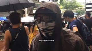 香港实施禁止蒙面法引市民反感