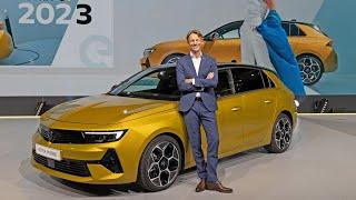2022 Opel Astra World Premiere