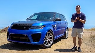 2018 Range Rover SVR Review - Better Than An X5M?