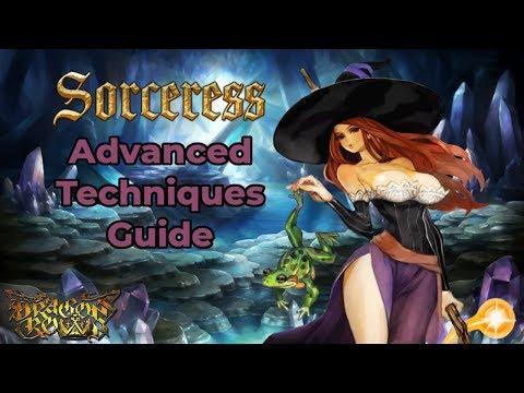 Dragon's Crown Sorceress Guide - Advanced Techniques