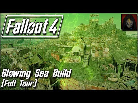 Fallout 4 | GLOWING SEA SETTLEMENT BUILD - Full Tour [Workbench Anywhere]