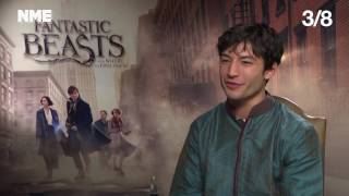 Fantastic Beasts: We Quiz Ezra Miller on his 'Harry Potter' Knowledge