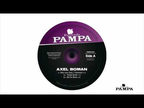 Axel Boman - Purple Drank (PAMPA004)