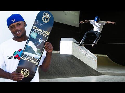 USA National Skateboarding Champion Dashawn Jordan   Signed, Sealed, Delivered