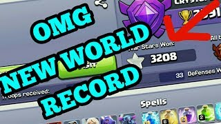 Clash of Clans [OMG NEW WAR WIN STARS WORLD RECORD]COC