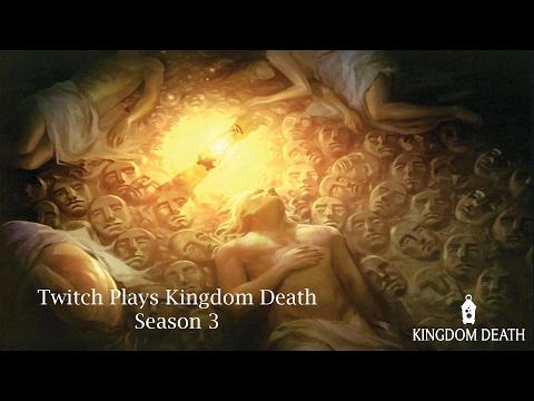 Twitch Plays Kingdom Death - S3 - Year 16 Pt 2 (Lion Knight)