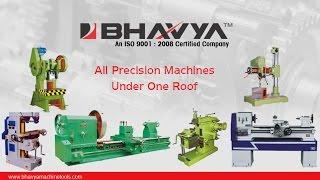 Lathe Machines (Light-Heavy Duty) Manufacturer - www.bhavyamachinetools.com