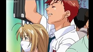 Anime Train Scene - Accidentally Kiss Watch The Funny Ending 😂🤣