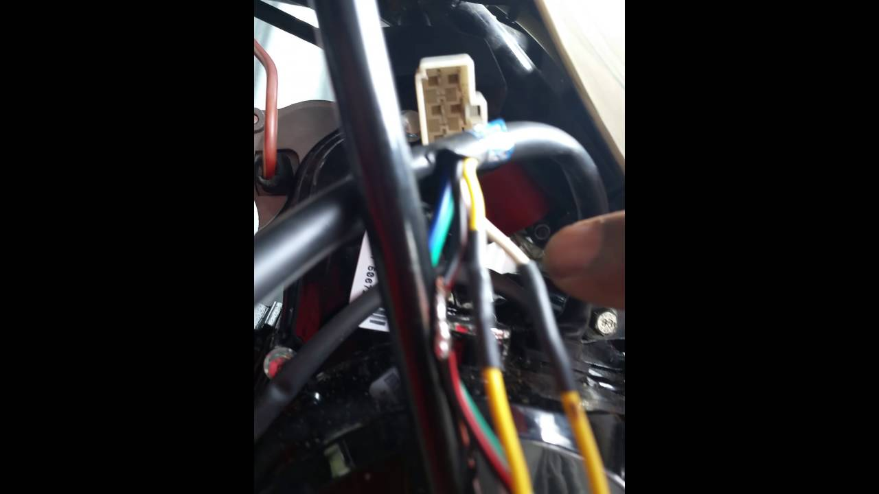 baja 90cc to 125cc swap stator harness spliced and cut youtube rh youtube com baja 90cc atv wiring harness Baja 50Cc Four Wheeler Wire Diagram