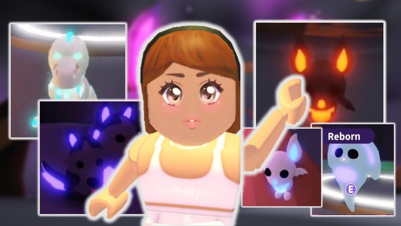 Every Neon 2020 Halloween Pet In Adopt Me Roblox Youtube