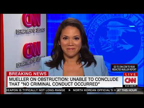 Trevor Carey - Mueller Report Reaction - CNN Has the World's Fastest-Reading Reporters