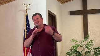 Pastor Hopkins delivers the sermon for Mar 14th, 2021