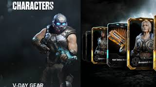 Gears of War 4 Charaters | Standard and Elite Characters | NOT Full Collection