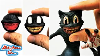Como hacer a CARTOON CAT Escultura Plastilina   Sculpting Cartoon Cat Clay Tutorial   DibujAme Un...