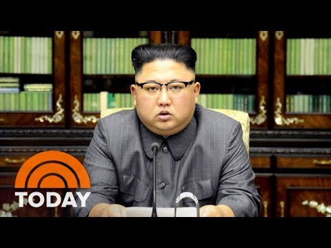 North Korea's Kim Jong Un Calls President Donald Trump 'Mentally Deranged US Dotard' | TODAY