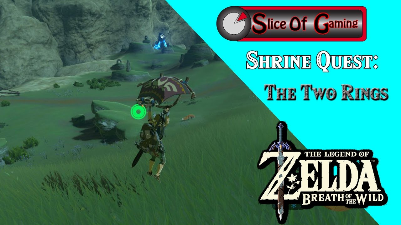 The Two Rings Shrine Zelda