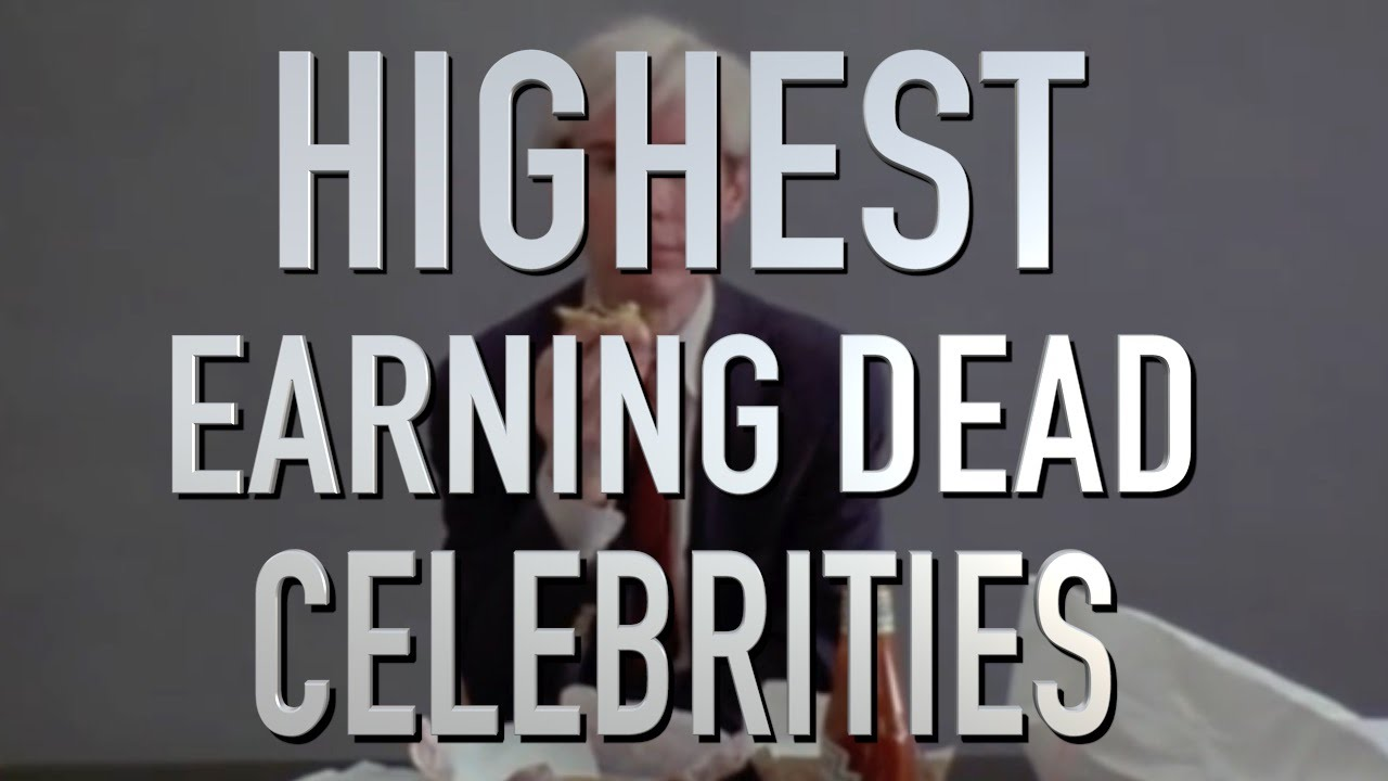 Top 10 Highest Earning Dead Celebrities (Quickie)