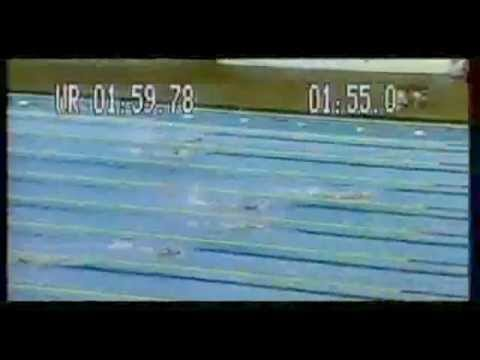 Kornelia Ender - the brightest star of 1976 Summer Olimpics.flv