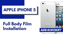 Apple iPhone 5 Full Body Protector Installation Instructions by ArmorSuit MilitaryShield