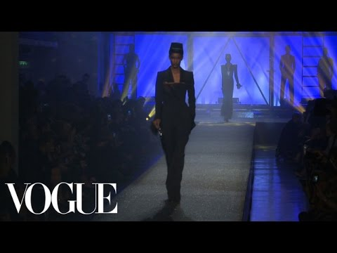 Jean Paul Gaultier Ready to Wear Spring 2013 Vogue Fashion Week Runway Show