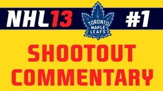 """NHL 13: Shootout Commentary ep. 1 """"First Shootout"""""""