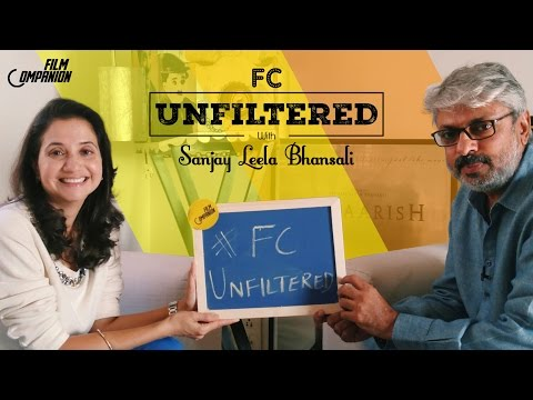 Sanjay Leela Bhansali Interview with Anupama Chopra | FC Unfiltered
