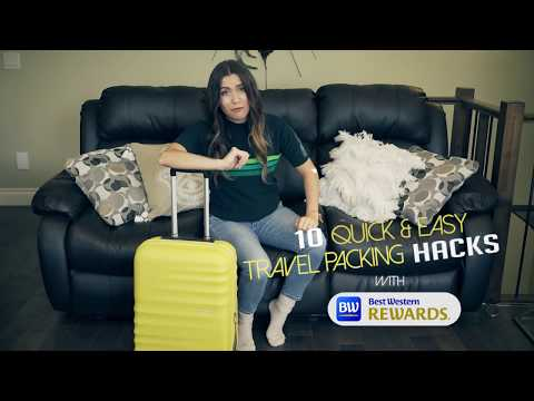 Packing Travel Hacks with 'Hey Nadine' & Best Western