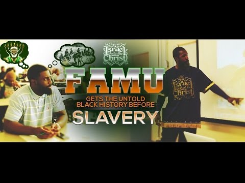 IUIC: FAMU Gets Untold Black History Before Slavery With Bishop Nathanyel!!