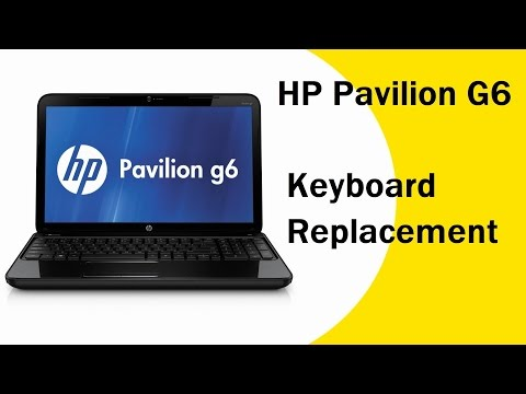 HP Pavilion G6 Keyboard Replacement