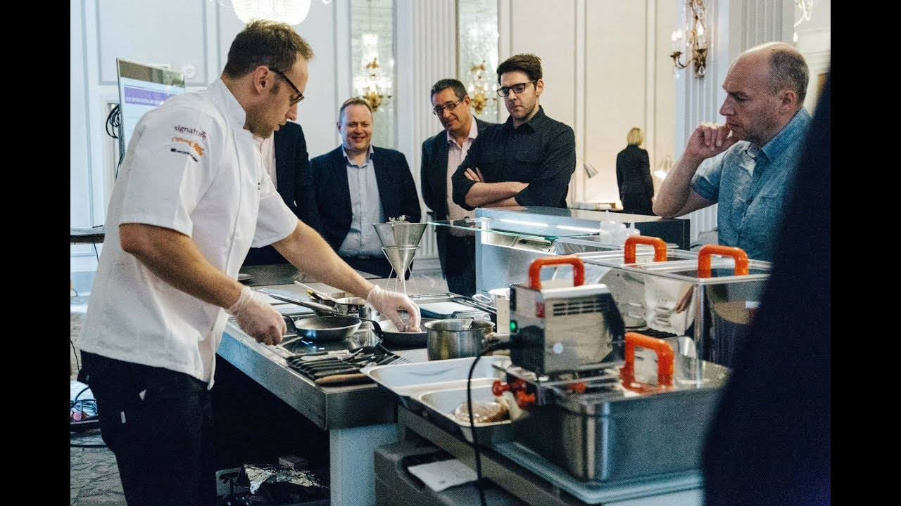 Signature stories: Live Cooking event  with Clifton Food Range and livecookintable®