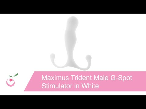 Maximus Trident Male G-Spot Stimulator in White from YouTube · Duration:  1 minutes 27 seconds