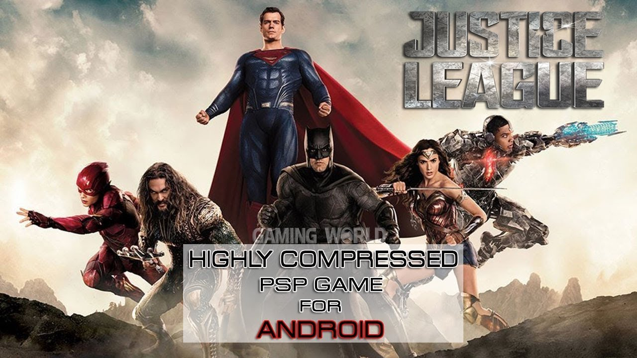 justice league heroes psp highly compressed download